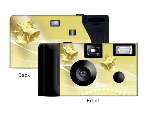 Gold Bells Custom Disposable Camera