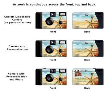 Starfish Paradise Custom Disposable Camera