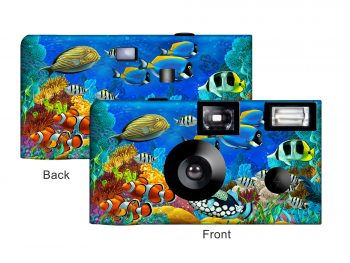 Tropical Fish Custom Disposable Camera