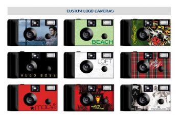 Business/Corporate Custom Logo Cameras