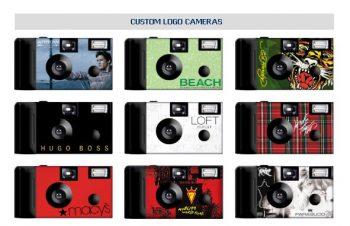 Business/Corporate Custom Logo Cameras