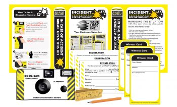 AK8-P Fleet Accident Kit - - PRIVATE LABEL