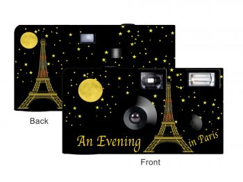 An Evening in Paris Custom Disposable Camera
