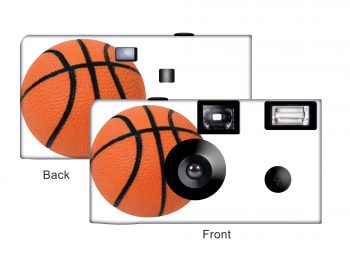 Basketball 2 Custom Disposable Camera