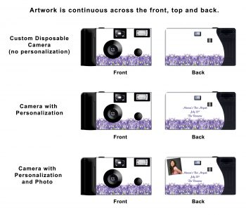 Blue Iris Custom Disposable Camera