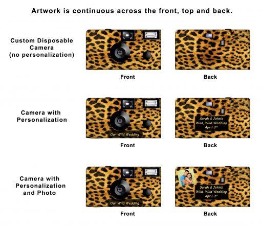 Cheetah Custom Disposable Camera