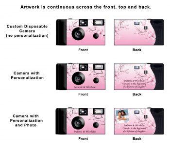 Cherry Blossoms Custom Disposable Camera