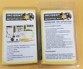 Fleet Accident Disposable Camera Kit Quick-N-Easy