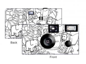 Color-My-Cam – Jungle Disposable Camera