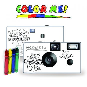 Color My Camera – A Happy Birthday Disposable Camera