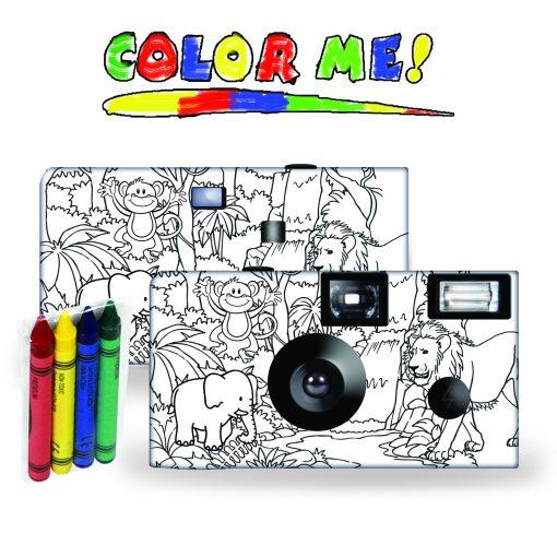 Color-My-Cam - Jungle Disposable Camera