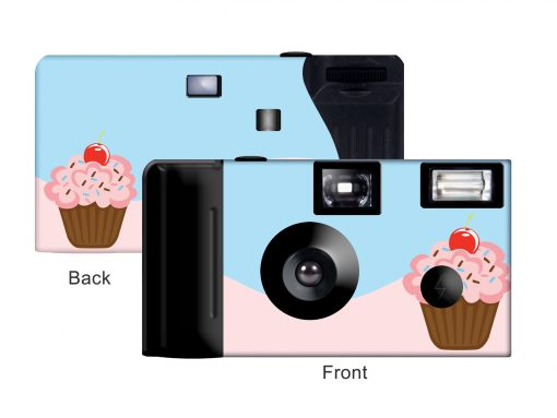 Cupcake Custom Disposable Camera