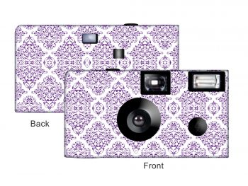 Damask Custom Disposable Camera