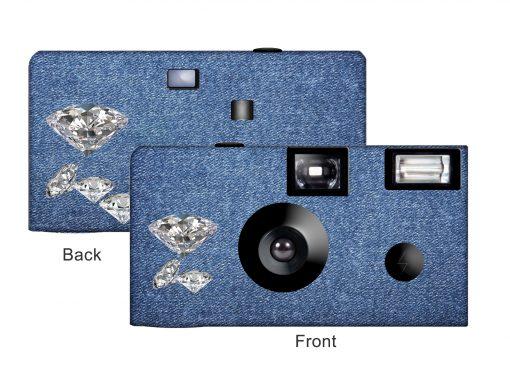 Denim & Diamonds Custom Disposable Camera