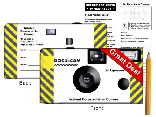 Docu-Cam 24 exp - Accident/Incident Camera Kit