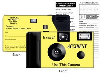 Yellow Accident Kit, Item F50002