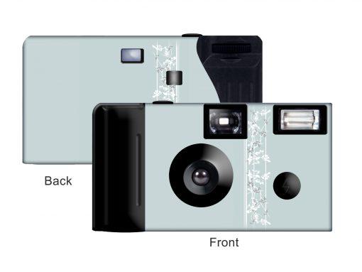 Elegance of Romance Custom Disposable Camera