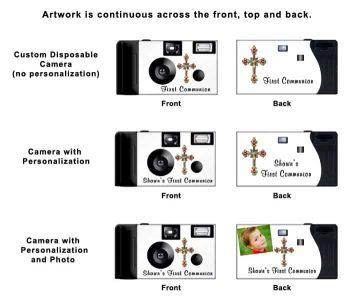 Red Cross Custom Disposable Camera