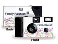Family Reunion 1 Custom Disposable Camera