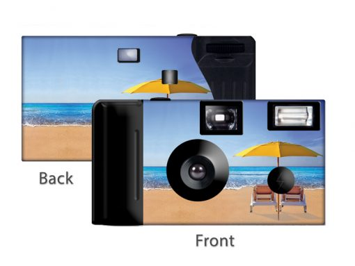 Beach Umbrella Custom Disposable Camera