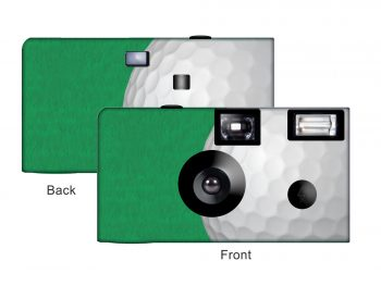 Golf Custom Disposable Camera