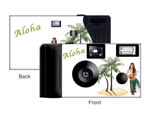 Hawaiian Dancer Custom Disposable Camera