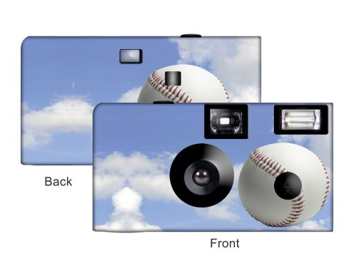 Home Run Custom Disposable Camera