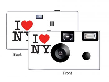I Love New York Custom Disposable Camera