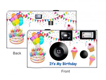 It's My Birthday Custom Disposable Camera