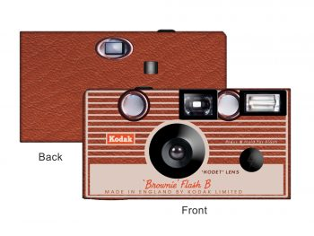 Kodak Brownie Vintage Custom Disposable Camera