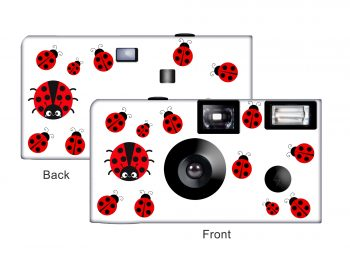 Ladybugs Custom Disposable Camera