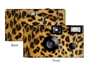 Leopard Custom Disposable Camera