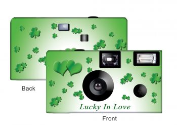 Lucky In Love Custom Disposable Camera