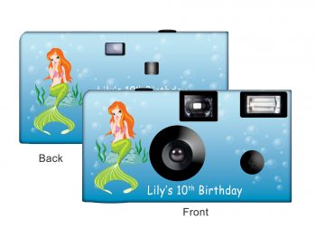 Mermaid Custom Disposable Camera