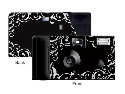 Midnight Elegance Custom Disposable Camera