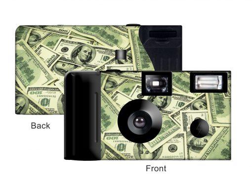 Money Money Money Custom Disposable Camera