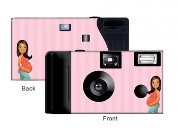 Mother-To-Be Custom Disposable Camera