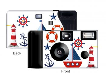 Nautical Custom Disposable Camera
