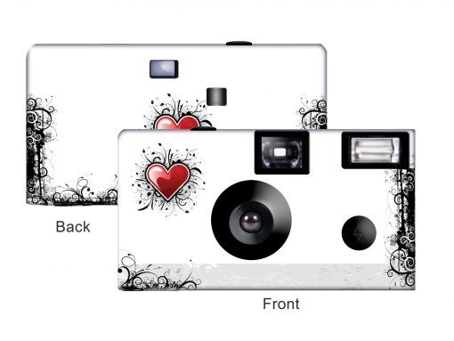 New Love Custom Disposable Camera
