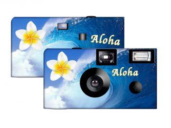 Ocean Flowers Custom Disposable Camera