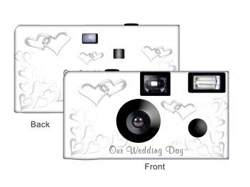 Our Wedding Day Custom Disposable Camera