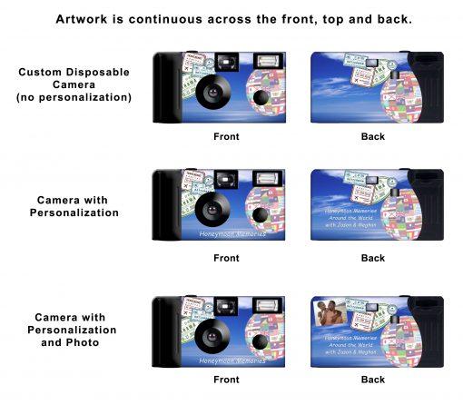 Passport Custom Disposable Camera
