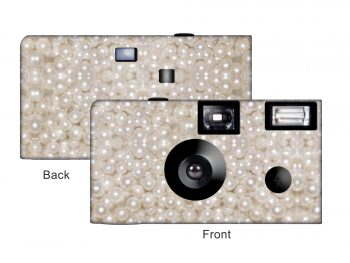Pearls Custom Disposable Camera