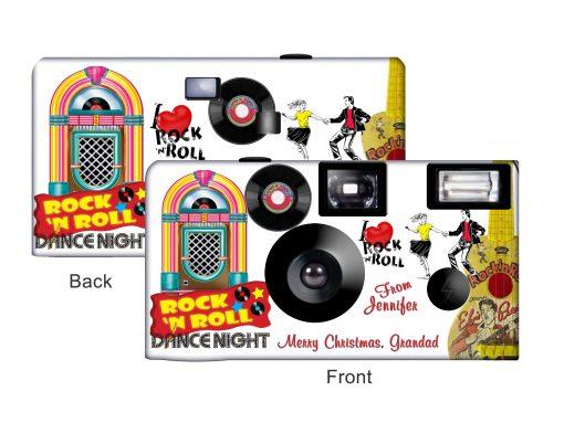 Rock n' Roll Custom Disposable Camera