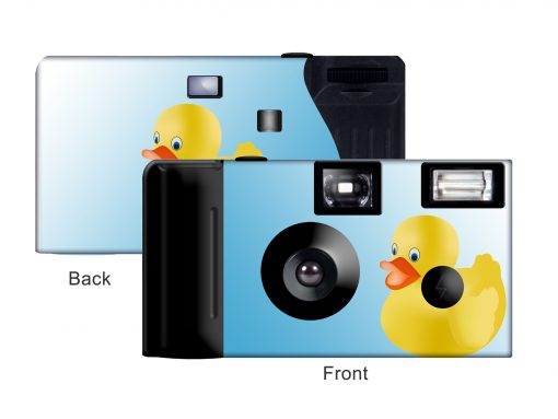 Rubber Duckie Custom Disposable Camera