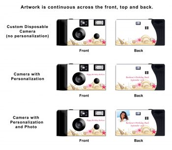 Shoreline Custom Disposable Camera