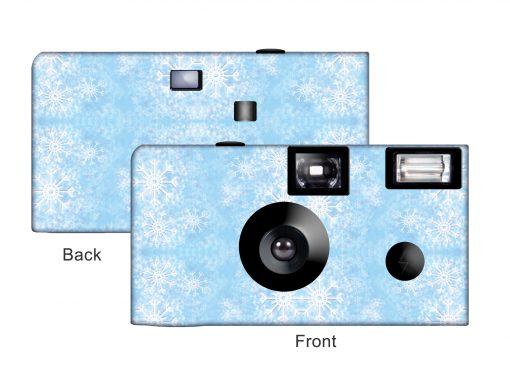 Snowflakes Custom Disposable Camera