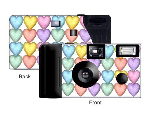 Sweethearts Custom Disposable Camera
