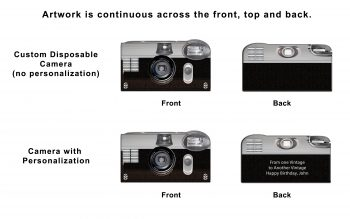 Vintage 35mm Custom Disposable Camera