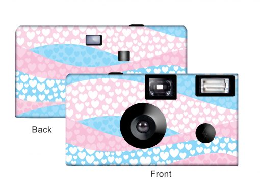 Waves Of Love Custom Disposable Camera